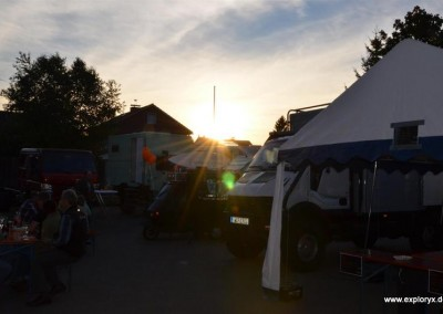 Sonnenuntergang bei Exploryx