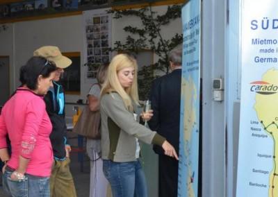 Janette Emerich erklärte die verschiedenen Seabridge-Touren