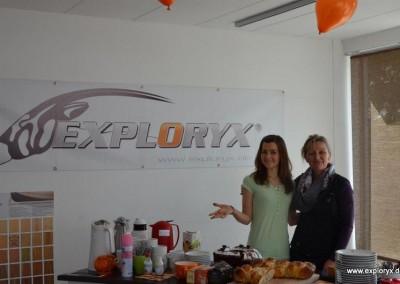 Auch das Kuchenbuffet lohnte einen Ausflug zu Exploryx