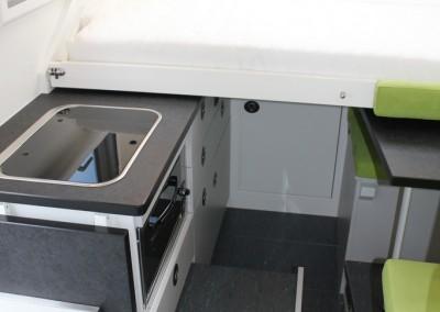 Innenraum Wohnmobil von Exploryx