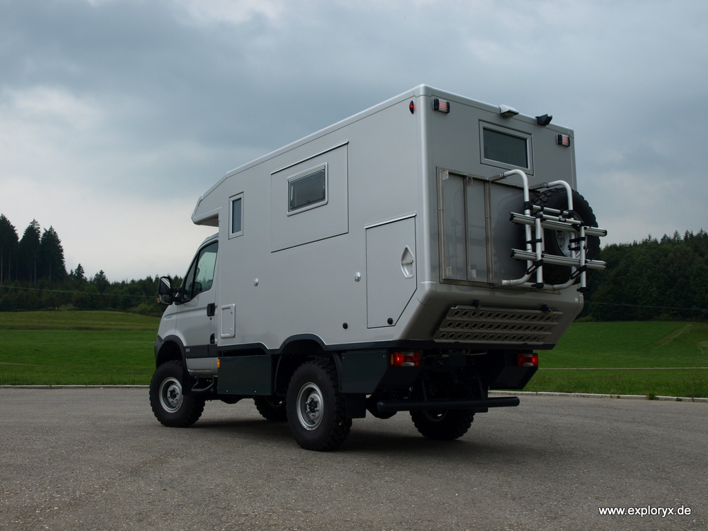 Reisefahrzeug mit Allrad auf Iveco-Basis