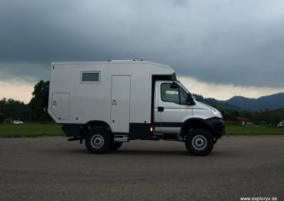 Iveco Daily 4x4 Expeditionsfahrzeug