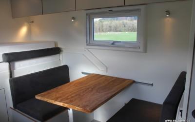 Moderne Inneneinrichtung im Wohnmobil