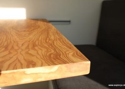 Hochwertige Möbel im Wohnmobil