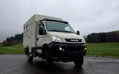 Reisemobil Iveco Daily Basis