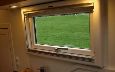 Panoramafenster im Wohnmobil
