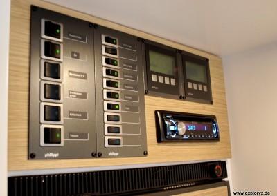 Höchste Technikstandards im Wohnmobil
