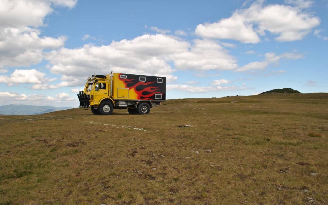 Exploryx in Aktion: Südrumänien