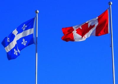Bienvenu au Québec, la province francophone du Canada