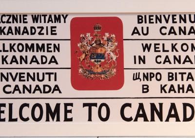 Halifax war das wichtigste und einzige Tor vom Seeweg her zur Einwanderung