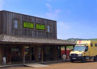 """""""General Store"""" (Gemischtwarenladen) in Medora"""
