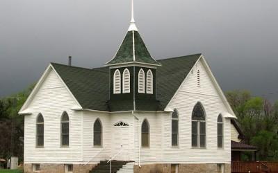 auch ganz kleine Ortschaften haben ihr Kirchlein