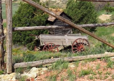 des souvenirs du vieux Far Ouest (North Dakota/région Médora)
