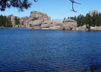 Sylvan Lake, eine Postkarten Idylle auf knapp 2000 Metern / Black Hills