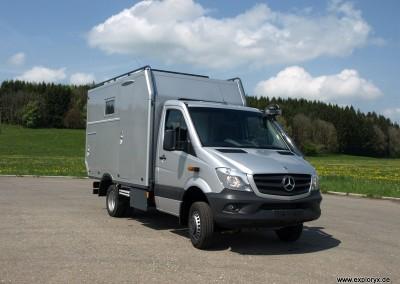Mercedes Benz Sprinter Euro 6