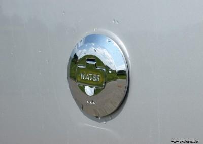Wassertank Expeditionsmobil