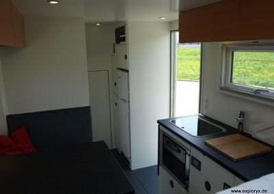 Geräumiges Konzept im Wohnmobil