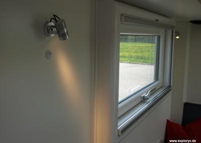 Hochwertige Fenster im Wohnmobil