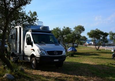 Expeditionsfahrzeug Mercedes Benz in Kroatien (65)
