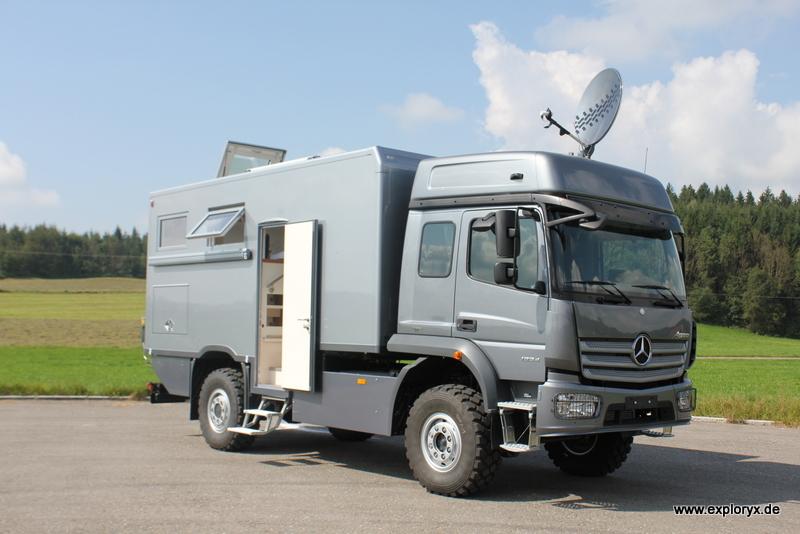 Reisemobil Atego MB