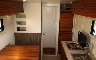 Hochwertiger Innenausbau im Wohnmobil
