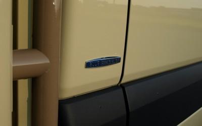 Blue Efficency Mercedes Benz