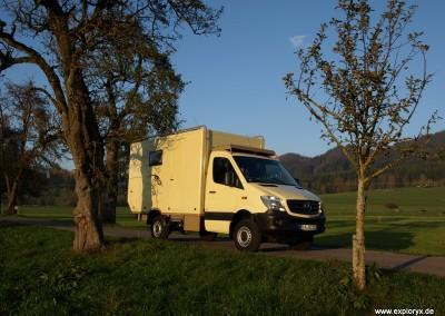 Mercedes Benz Expeditionsfahrzeug