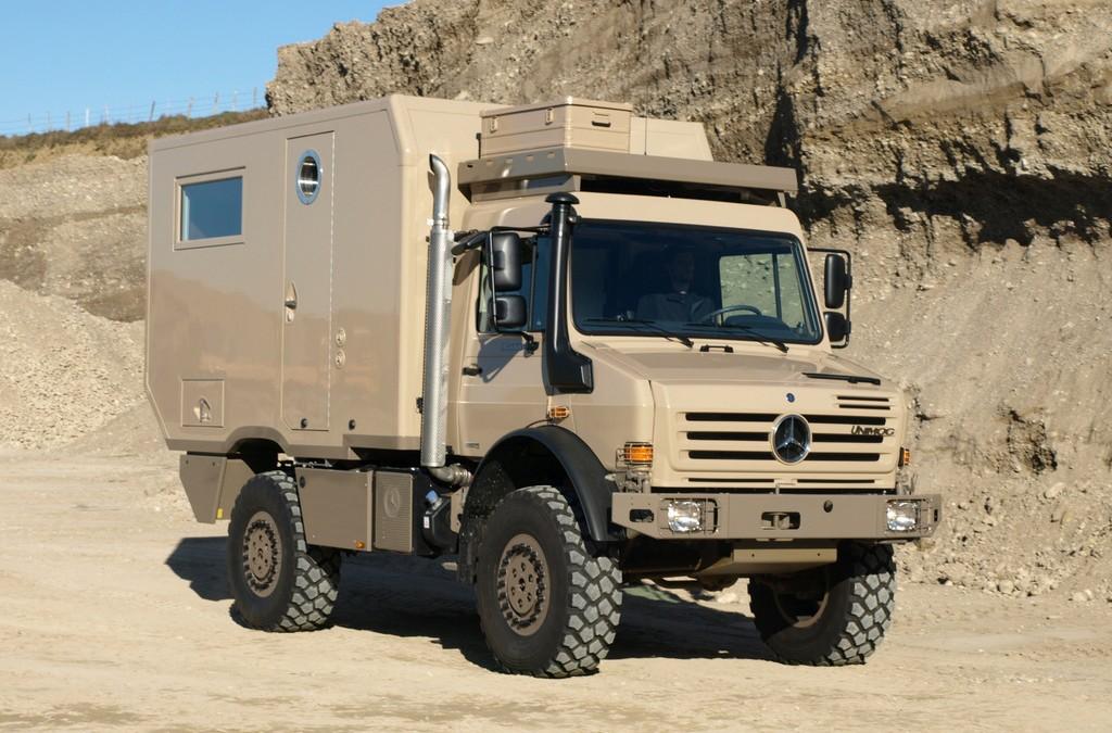 Expeditions- und Fernreisemobile