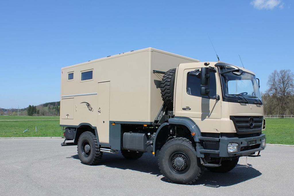Expeditionsfahrzeuge, Reisemobile, 4x4 Allrad ...