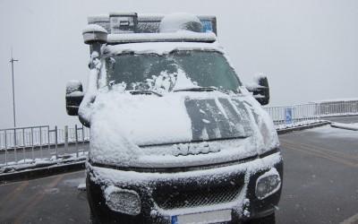 Wie wird ein Wohnmobil winterfest?
