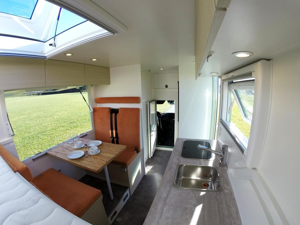 Innenausbau Wohnmobil 4x4