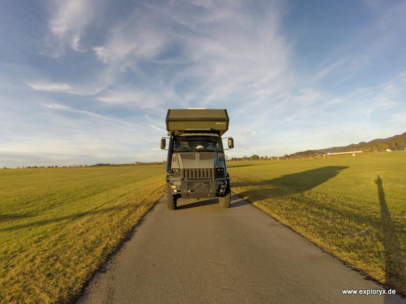 Bremach T-Rex Reisefahrzeug