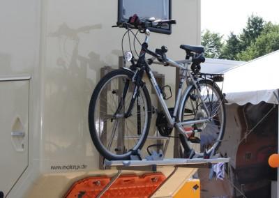 Individueller Fahrradträger für Expeditionsmobile (5)