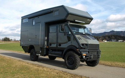 Neues Fahrzeug: Bremach T-Rex family