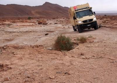 Expeditionsmobil Mercedes in Marokko (14)