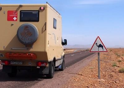 Expeditionsmobil Mercedes in Marokko (17)