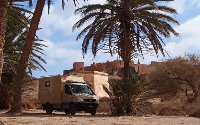 Exploryx-Mobil in Marokko