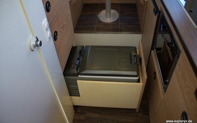 Gefrierbox im Wohnmobil