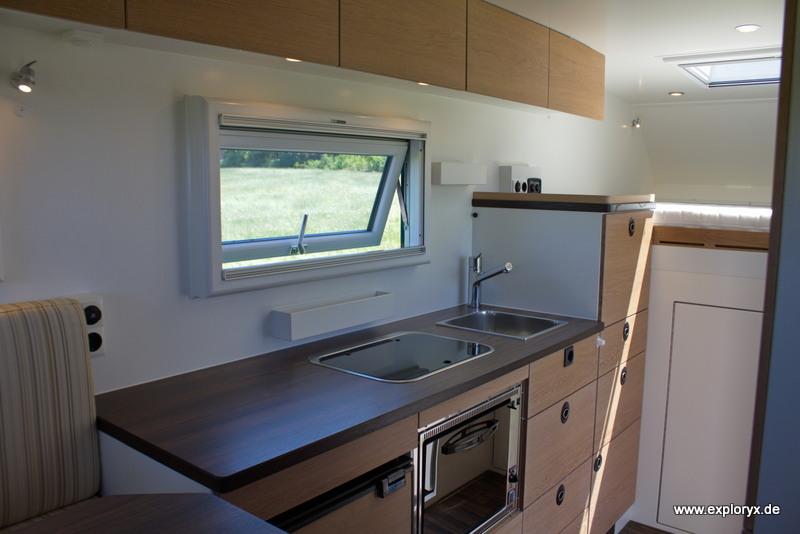 Küche im Reisefahrzeug