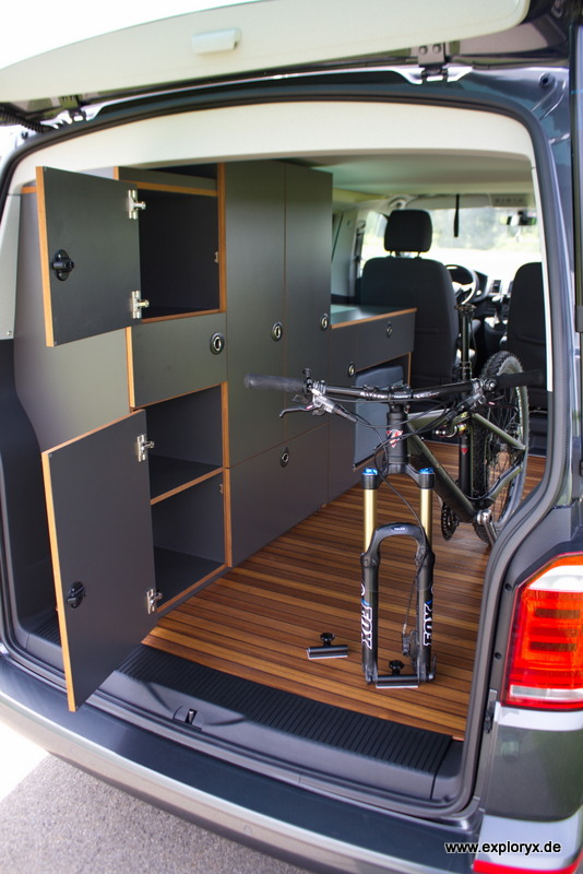vw bus t6 individueller ausbau. Black Bedroom Furniture Sets. Home Design Ideas