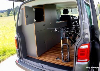 Fahrradhalter VW-Bus