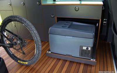 Kühlbox im VW-Bus