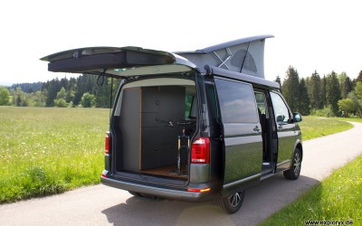 VW T6 Bike & Sleep