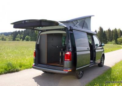 VW-Bus Camping