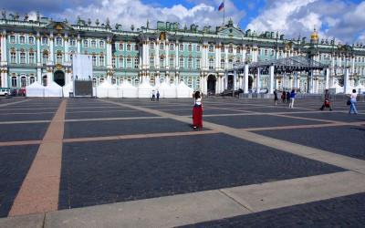 Besichtigung von St. Petersburg