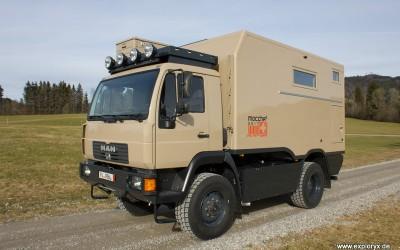 Neues Fahrzeug fertiggestellt: Nyala MAN