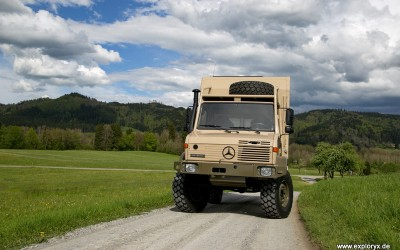 Neues Fahrzeug fertiggestellt: Unimog Klippspringer