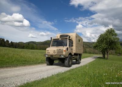 Expeditions-Fahrzeug Unimog (2)