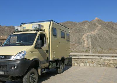 Mit dem Allrad-Mobil unterwegs (4)