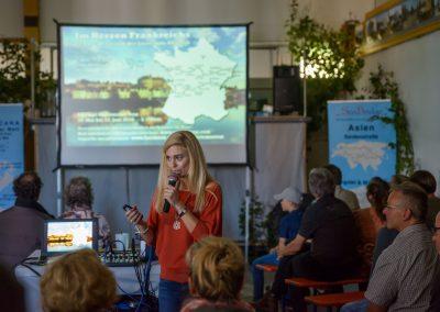 Janette Emerich berichtet von ihren Reisen